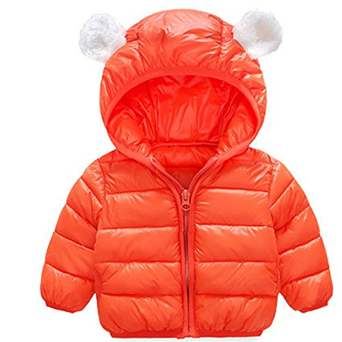 acb6312a749d88 ARAUS-Baby Winter Jacke Jungen Mädchen Mäntel mit Kapuze Herbst Winter  Wattierte Jacke warme.