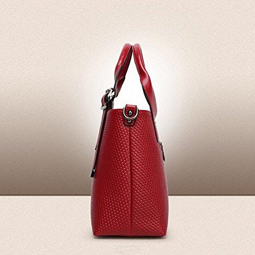 Eysee, Poschette giorno donna Rosso Vino rosso 37cm*23cm*12cm Vino rosso