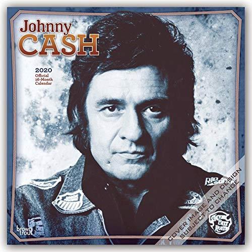 Johnny Cash 2020 - 16-Monatskalender: Original BrownTrout-Kalender [Mehrsprachig] [Kalender] (Wall-Kalender)