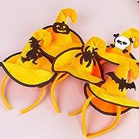 Sombrero de Esqueleto de Bruja de Colores Bruja Ganchos de Navidad Hebilla de Cabeza de Halloween Props Traje de Moda Vestir Accesorios