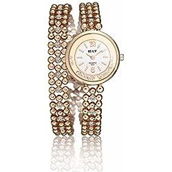 Armbanduhren Metall Modeschmuck Uhr Damen Iliade Pink Geschenk Damen