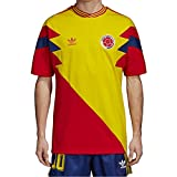 adidas Camiseta Colombia Mashup Hombre Amarillo M