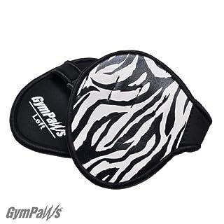 GymPaws Alternative für Trainingshandschuhe – Lederne Handschuhe - Grips für Gewichtheben (Zebra)