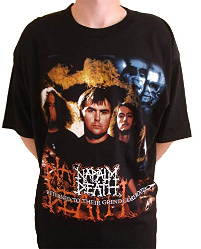 NAPALM DEATH -  T-shirt - Uomo Black XL