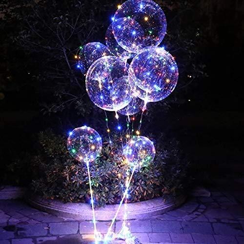 LED Bande Transparent Lumière Confession Ballon Proposer Anniversaire De Mariage Club Fête Danniversaire Enfants Fournitures