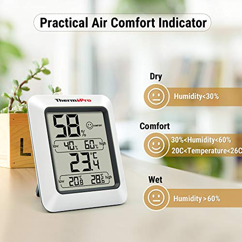 ThermoPro TP50 digitales Thermo-Hygrometer - 3