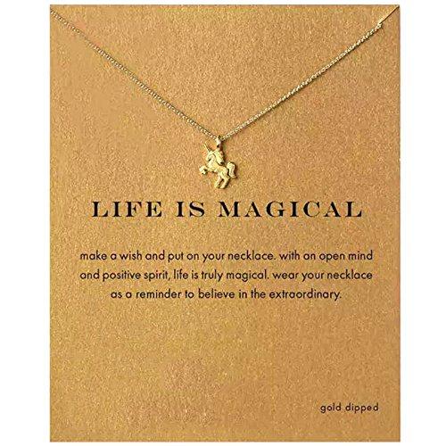 Elistelle Halsketten Kette Gold Für Damen Charm Halskette Charm Anhänger