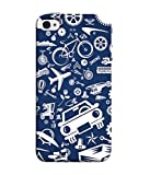 InkTree Designer Printed Soft Silicone Back Cover for Apple iPhone 5/5S/SE (Multicolour)