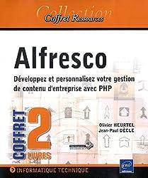Alfresco - Coffret de 2 livres : Développez et personnalisez votre gestion de contenu d'entreprise avec PHP