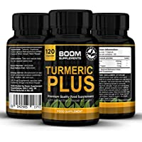 Turmeric Plus 600mg Max Strength | 120 Turmeric Capsules with Black Pepper | 4 FULL Month Supply | Fat Loss, Anti-Inflammatory & Natural Antioxidant | Powerful Curcumin, Turmeric Capsules High Strength Absorption | Safe And Effective | Best Selling Anti-oxidant Pills | Manufactured In The UK! | 30 Day Money Back Guarantee (packaging may vary)