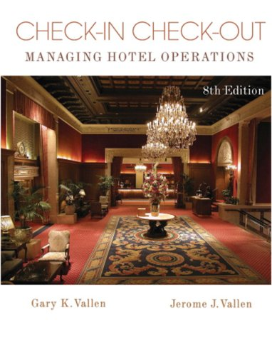 Check-in check-out + simulation student cd for professional front office management: managing hotel operations