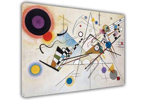 CANVAS IT UP Leinwanddruck Wassily Kandinsky Komposition VIII Foto Prints Raum Dekoration Classic Fotos Ölgemälde - Dekoration Foto-print