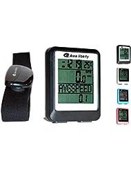 Compteur de vélo sans fil multifonctions et cardio fréquence - AL9100HR - Notice en francais
