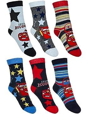 6 Paar Cars Jungen Socken