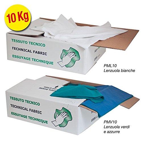 Propac z-pml10pezzame von Baumwolle, Bettwäsche, Weiß, 39x 49cm, 10kg