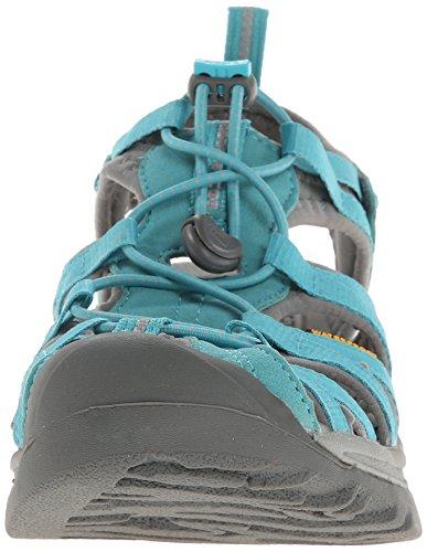 Keen Damen Whisper Sandalen Trekking-& Wanderschuhe blau - grau
