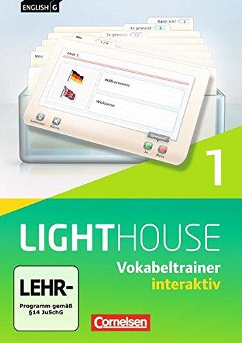 English G LIGHTHOUSE 01: 5. Schuljahr. Vokabeltrainer interaktiv