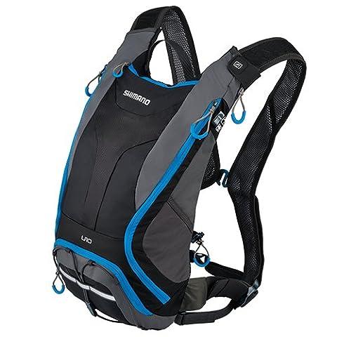Shimano Unzen (All Mountain Day Pack, 10Liter, schwarz/Lightning blau Tasche
