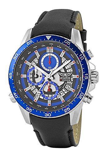 Aviator AVW2122G325orologio cronografo da uomo