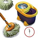 #8: Vimal (Super Strong with 4 Star Rotation Speed) Spin Mop with Steel Dryer System