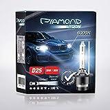 2x D2S 35W 85V 6000K Diamond Vision HID Bi Xenon Brenner Whitevision White Weiß Super Extrem Hell Laser Kit Nightbreaker Extreme Vision Ultra Blue Hyper Duobox Gasentladungslampe P32d-2