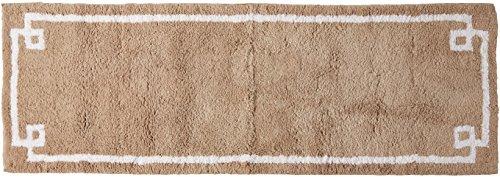 Evan Baumwolle getuftet Teppich taupe 61x 182,9cm