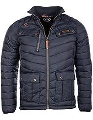 Géographical Norway Homme - Doudoune veste matelassée Alibi bleu marine