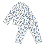 #6: Vbirds Assorted Printed And Color Cotton Full Sleeves Night Suit for Kids