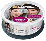 XLYNE DVD+R DL Double Layer Rohlinge (8,5 GB, 8x Speed, 25er Spindel)