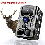 Binrrio Wildlife Camera 16MP 1080P Trail Camera With Infrared Motion Night Vision 20M/65FT