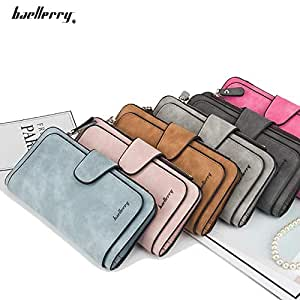 Hot Sales Brand Wallet Women Scrub Leather Lady Purses High Quality Ladies Clutch Wallet Long Female Wallet Carteira Feminina
