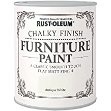 Rust-Oleum RO0070002G1 - Pintura De Chalky Finalizar Muebles - Blanco Antiguo - 750Ml
