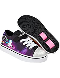 Heelys Snazzy Lo Top Shoes - Black/Space/Unicorn