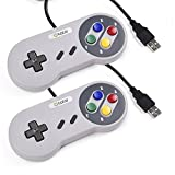 2 Pack SNES Super Nintendo USB Controller,ElectroBot Retro - Best Reviews Guide