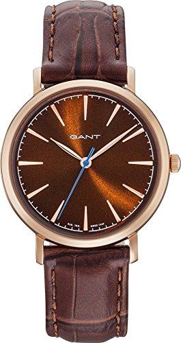GANT GT021007 - Orologio da polso Donna, Pelle, colore: Marrone