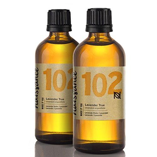 Naissance Lavendelöl (Nr. 102) 200ml (2x100ml) 100% natürliches ätherisches Öl (Beliebteste Produkte)