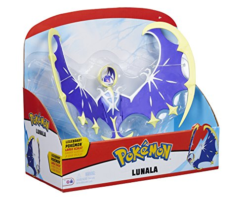 Pokemon 96299 Lunala, Figurine de Jeu, Multicolore,...