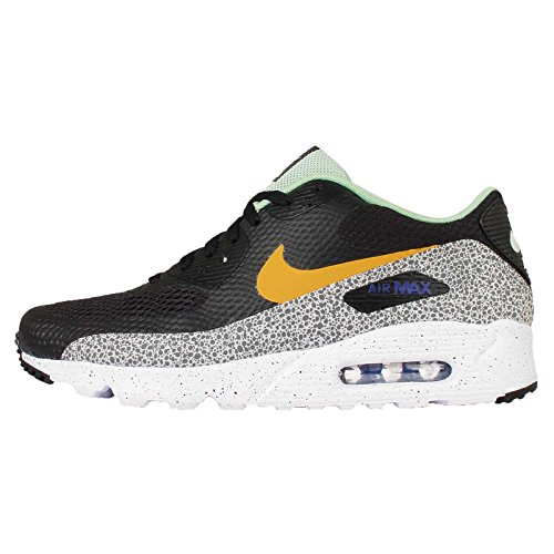 Nike, Uomo, Air Max 90 Ultra Essential Safari Green, Tessuto tecnico, Sneakers, Nero, 41 EU