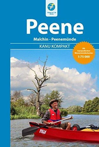 Preisvergleich Produktbild Kanu Kompakt Peene mit topografischen Wasserwanderkarten