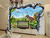 ADLFJGL 3D Stereoskopische Wohnzimmer Tv Hintergrundbild Traumhaft Schöne Schnee Berge Dinosaurier Hintergrund Wand Tapeten 250 × 175 Cm Wallpaper für ADLFJGL 3D Stereoskopische Wohnzimmer Tv Hintergrundbild Traumhaft Schöne Schnee Berge Dinosaurier Hintergrund Wand Tapeten 250 × 175 Cm Wallpaper