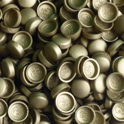 snap-on-two-piece-dome-screw-cover-caps-pack-of-50-small-matt-caps-bases-brass-coloured