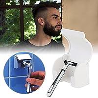Shaving Razor Rack Suction Cup Shaving Knife Rack Shaver Holder Razor Holding Device Shave Hangers Bathroom Accessories