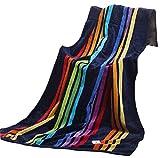 [Regenbogen-Streifen] Sports Towel Hotel Spa-Bad-Tuch Baumwolle 140 * 75CM