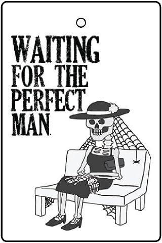 Cadeau de bas de Noël - Désodorisant De Voiture WAITING FOR THE PERFECT MAN