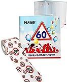 alles-meine.de GmbH 2 tlg. Set _ Geburtstag -  60 Jahre - Happy Birthday  - Incl. Name - Erinner..