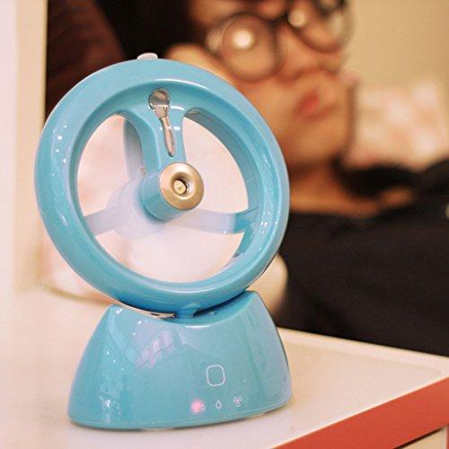 Xiao Jian- Aspa del Ventilador Suave, Carga USB, Ajuste de Tres velocidades,...