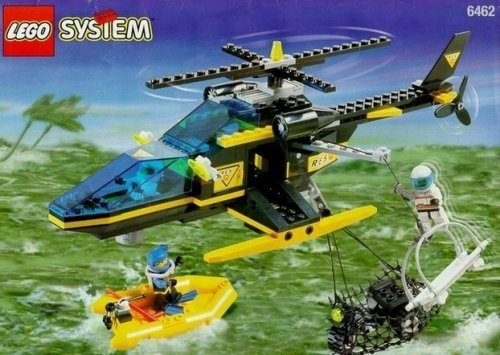 LEGO Aerial Recovery (Divers Series) #6462 -
