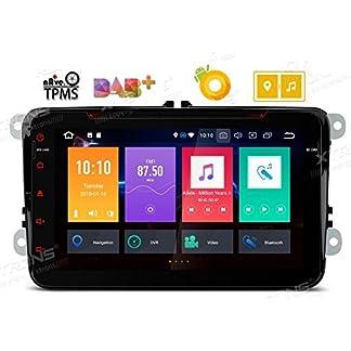 XTRONS-8-Auto-Touchscreen-Autoradio-Auto-DVD-Player-mit-Android-80-Octa-Core-Auto-Autostereo-untersttzt-4G-Bluetooth-4GB-RAM-32GB-ROM-DAB-OBD2-TPMS-FR-VW-VolkswagenSEATSkoda