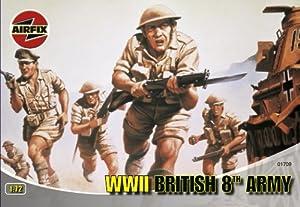 Airfix - British 8th Army, Set de Figuras (Hornby A01709)