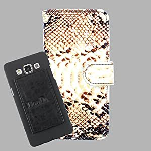 DooDa PU Leather Wallet Flip Case Cover With Card & ID Slots For Panasonic Eluga S - Back Cover Not Included Peel And Paste